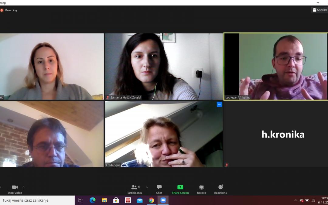 Sestanek o napredku rezultatov projekta