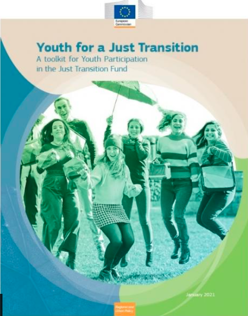 Priročnik za sodelovanje mladih v Skladu za pravičen prehod