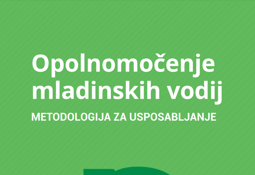 Project Manual in Slovenian