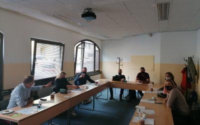 Sestanek partnerjev na Dunaju